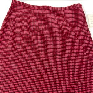 Christopher & Banks Midi Mole Skin Skirt NWT